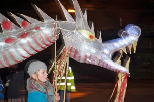 The Dragon Lantern Parade 2013